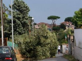 Maltempo:Roma,ancora trombe d'aria e allagamenti su litorale