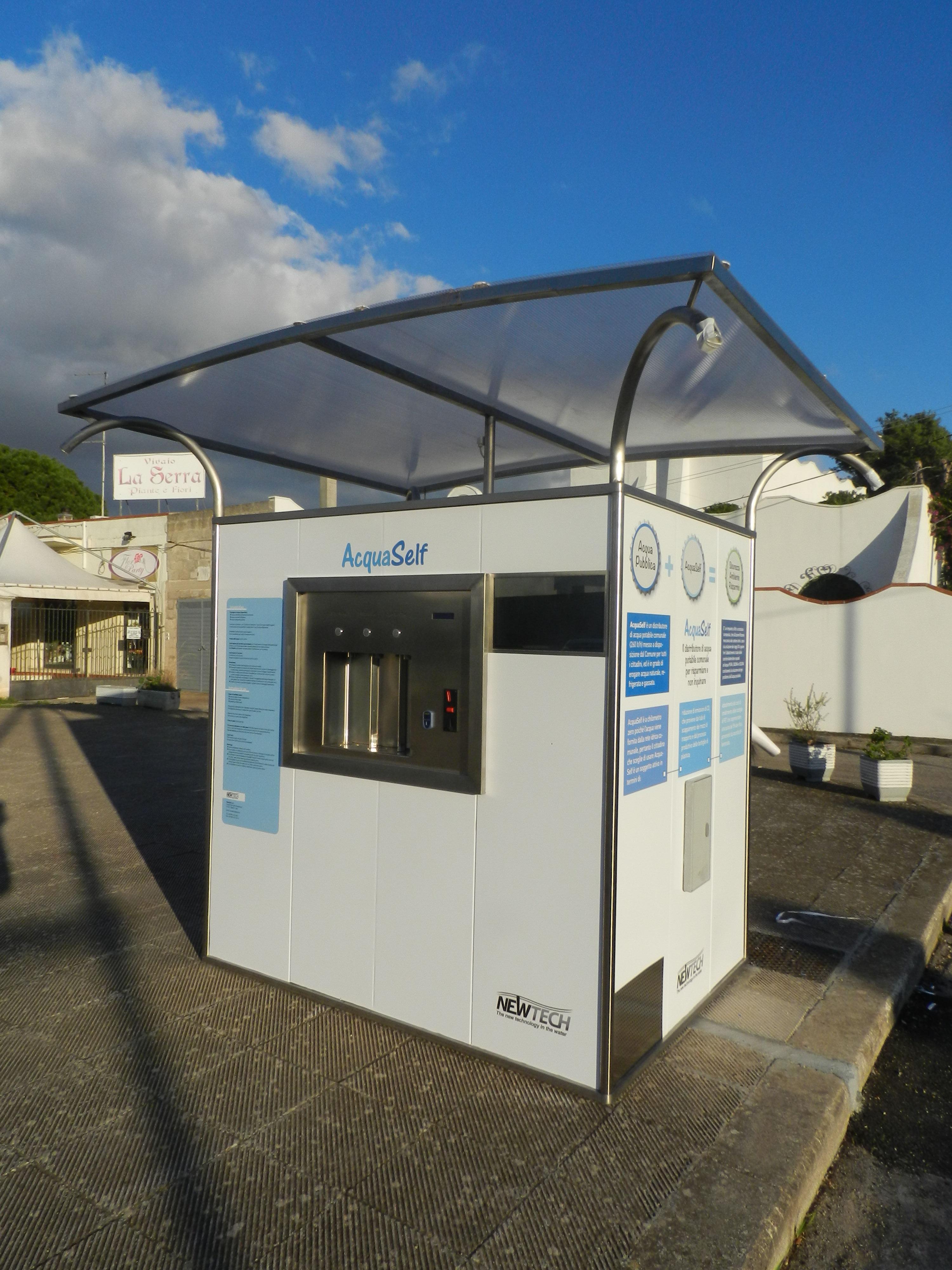 Acqua a 5 centesimi al litro oggi si inaugura l 39 impianto - Impianto acqua casa ...