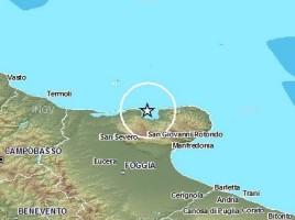 terremoto promontorio del gargano