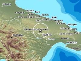 terremoto altamura gravina