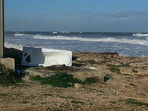 Bari: per fare il bagno al mare c'è il mare, non serve portare la vasca da casa - Noi Notizie.