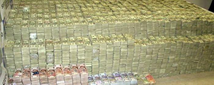 denaro enorme