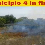 bari incendi municipio 4