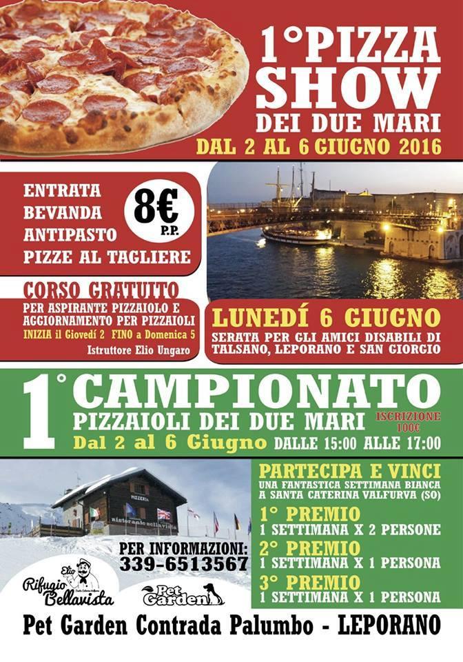 pizza show dei due mari
