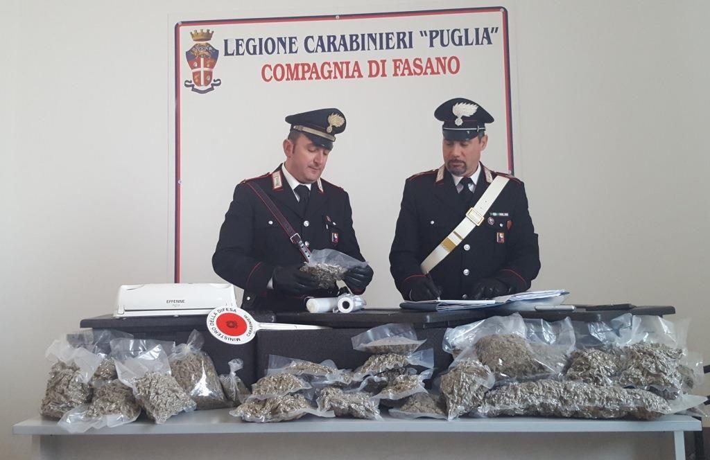 foto arresto Compagnia Carabinieri Fasano