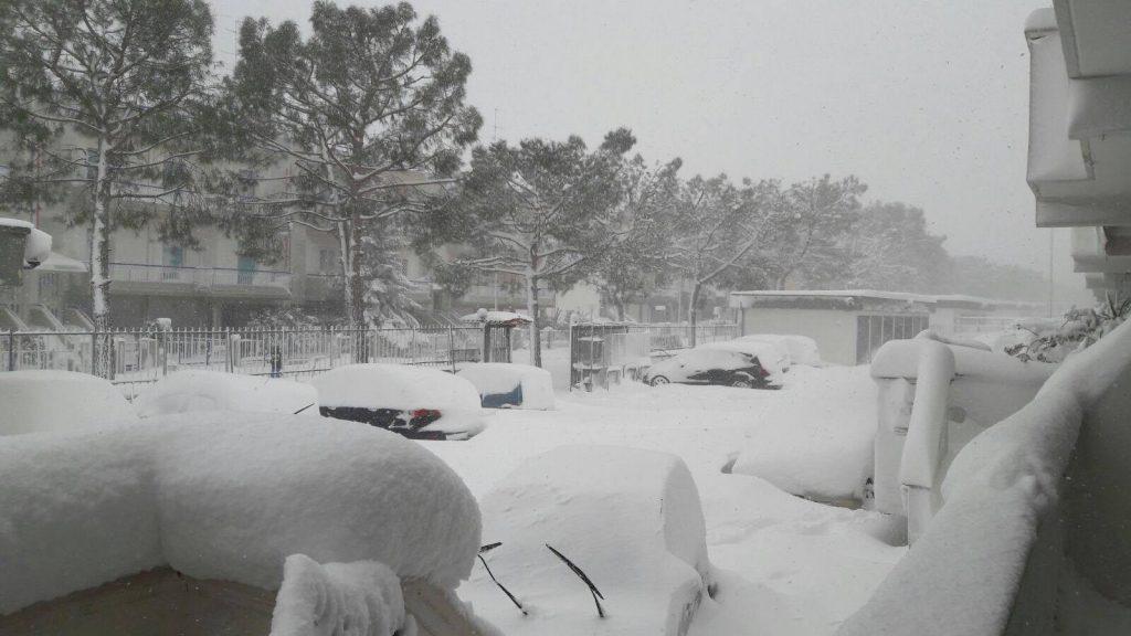 palo del colle neve 7 gennaio 2017