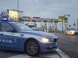 polizia casello autostrada