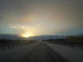 strada statale 106 neve