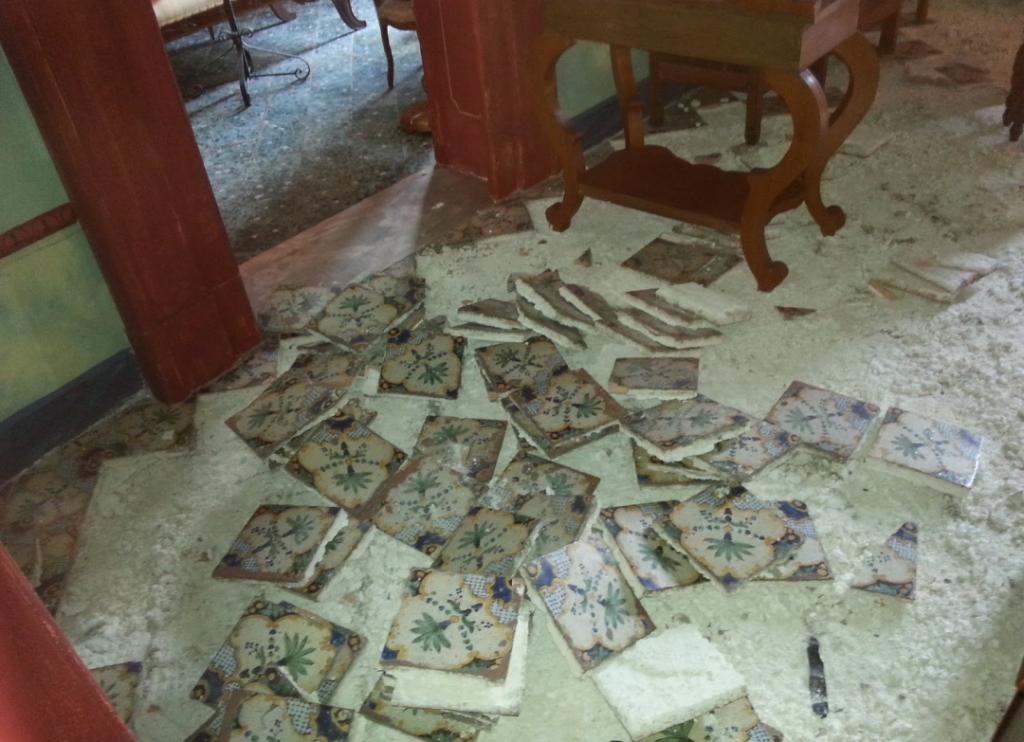 Ritrovato il pavimento seicentesco rubato a taranto