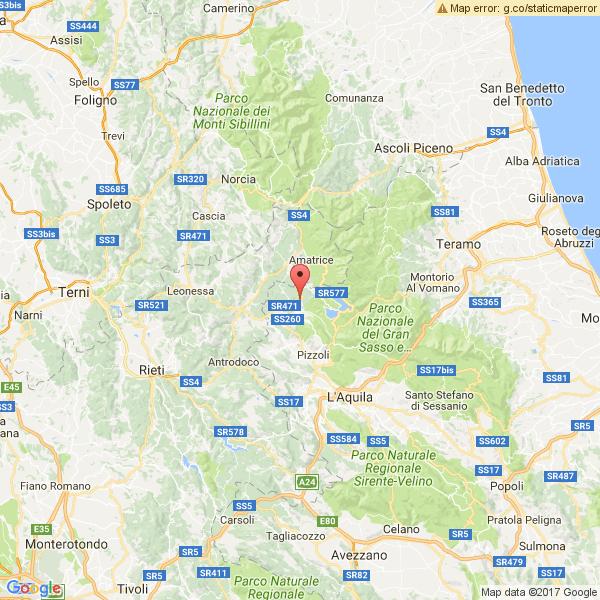 Scossa di terremoto 5.3 in Abruzzo, epicentro Montereale (L'Aquila)