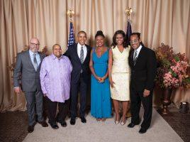 foto Lizz Wright alla Casa Bianca