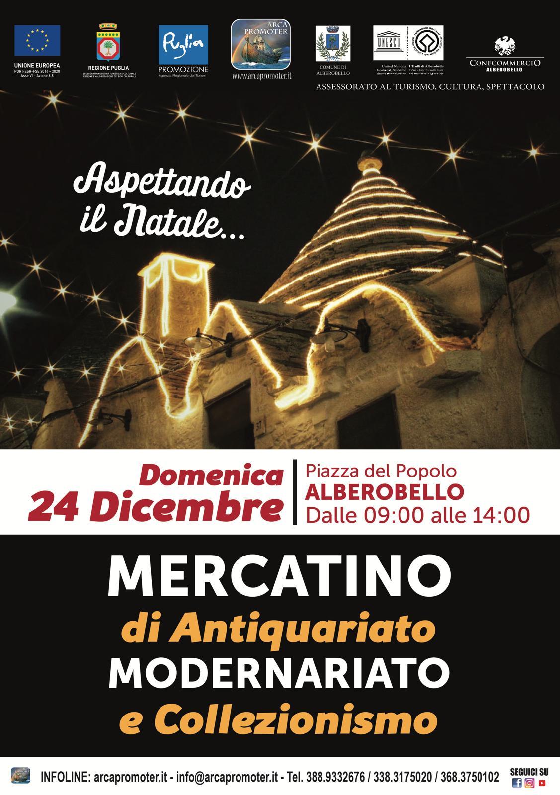 Alberobello oggi il mercatino dell 39 antiquariato for Mercatini antiquariato oggi