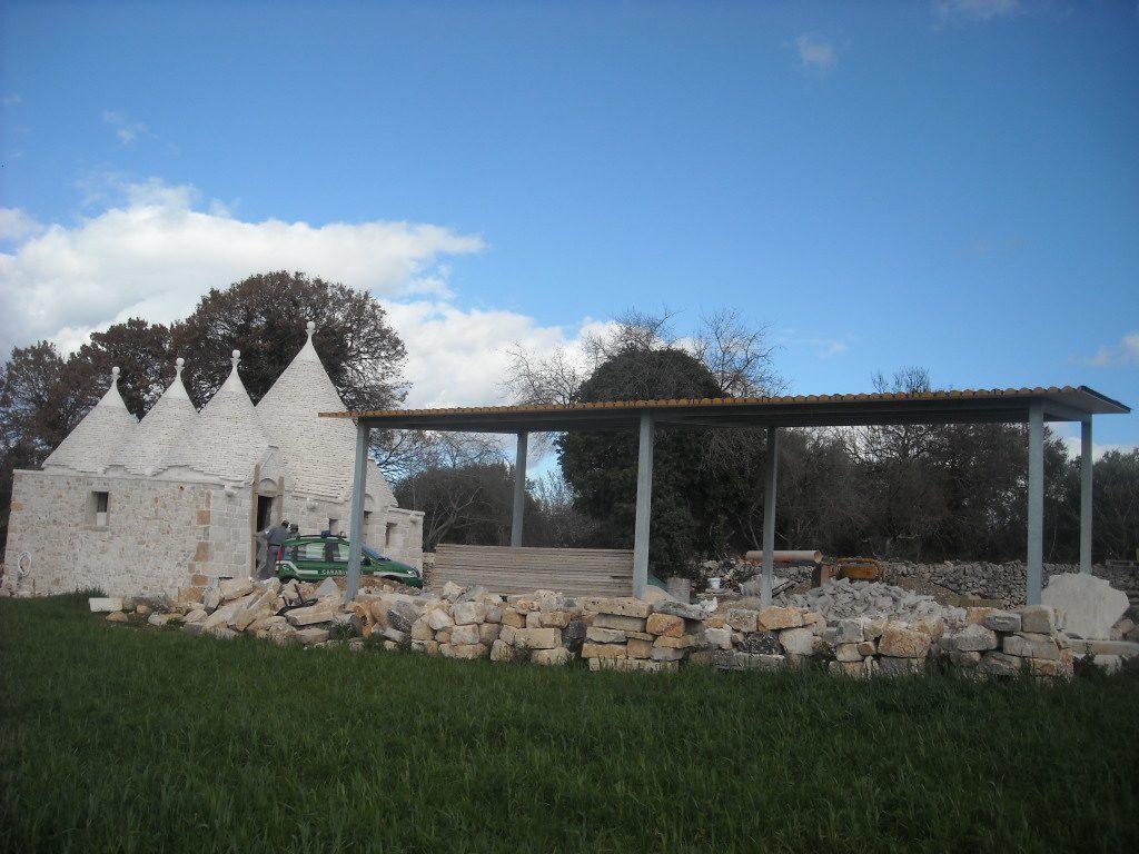Bel trullo con vista mare da ristrutturare u carovigno moulin
