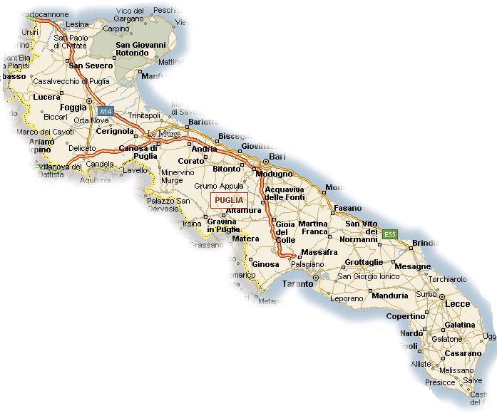 Cartina Puglia Con Tutti I Paesi.Metanodotto Condotta Da 72 Chilometri In 13 Comuni Delle Province Di Bari Bat Foggia E Taranto Noi Notizie