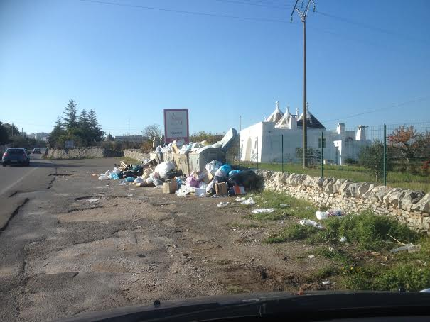 valle ditria rifiuti