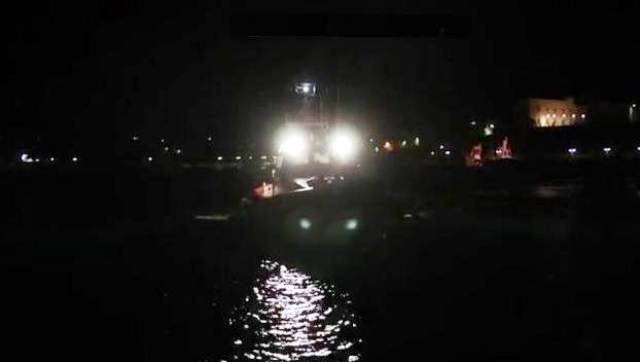 mare notte deriva
