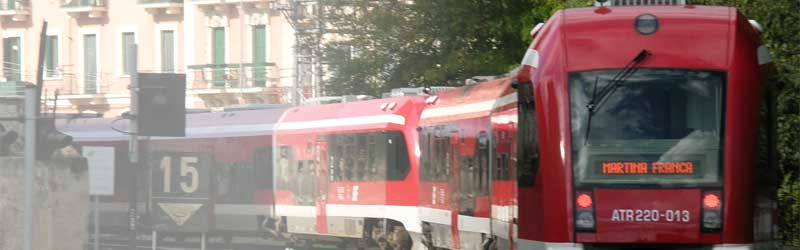treno sud est