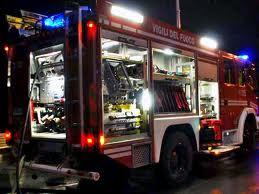 pompieri notte