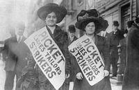 sciopero camiciaie di new york
