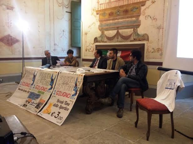 conferenza stampa sport