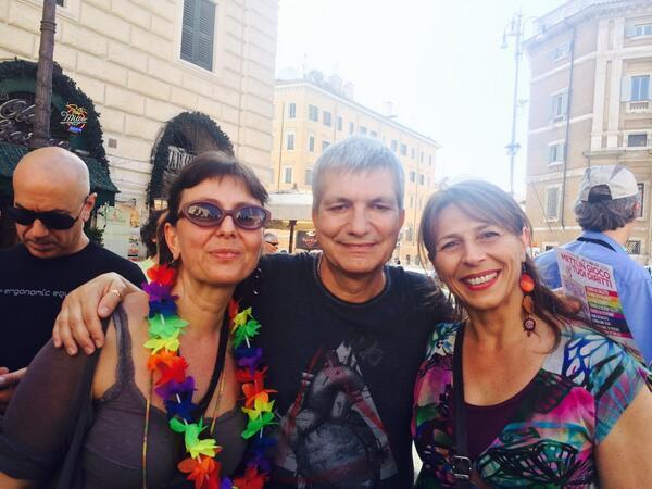 vendola al roma pride