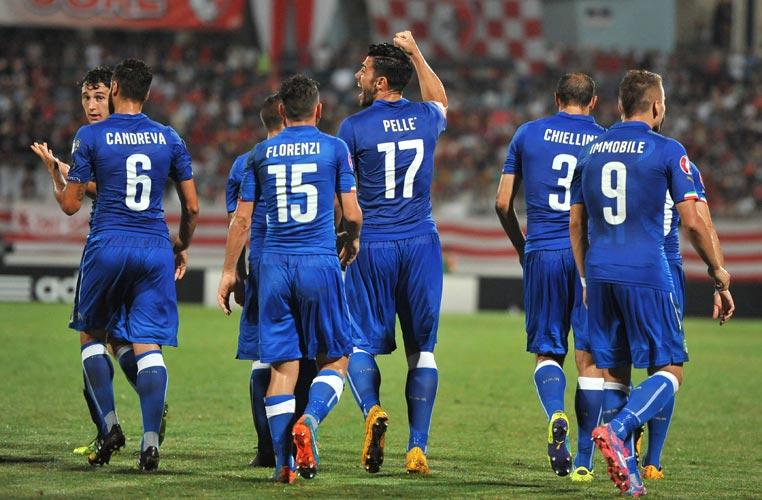 pellè primo gol italia