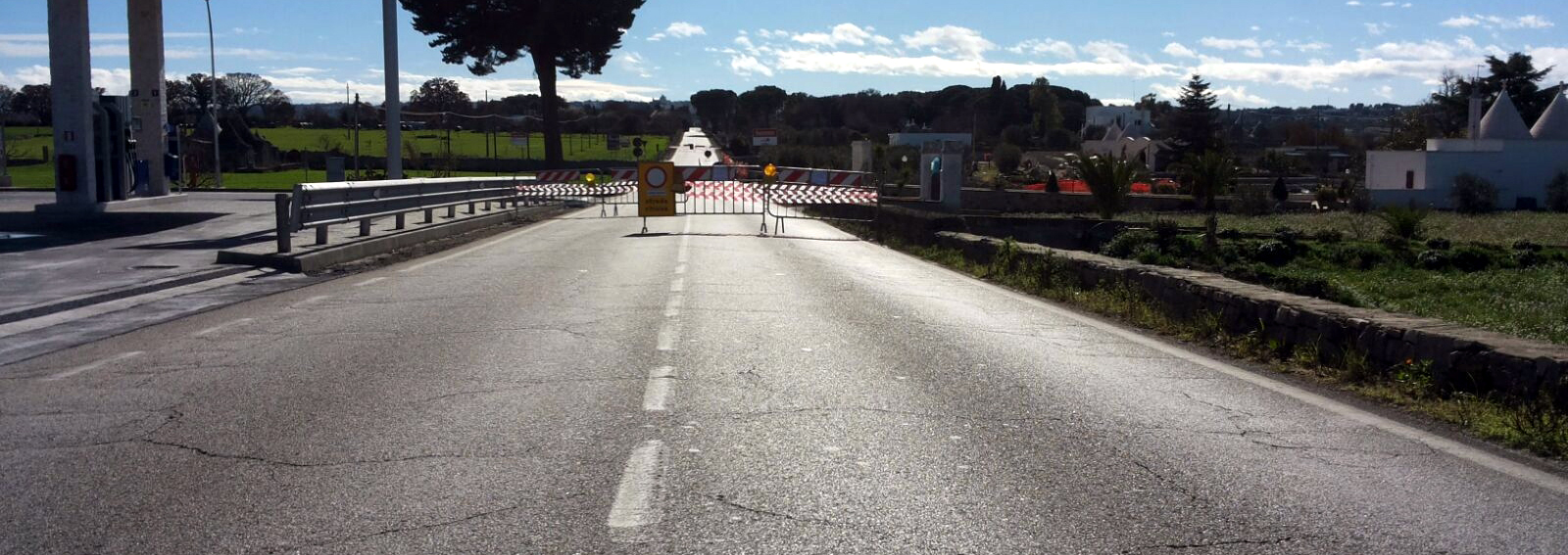 strada statale 172 martina franca locorotondo transenne 11