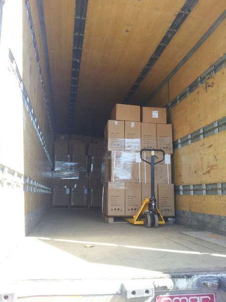 camion attrezzature rubate cerignola