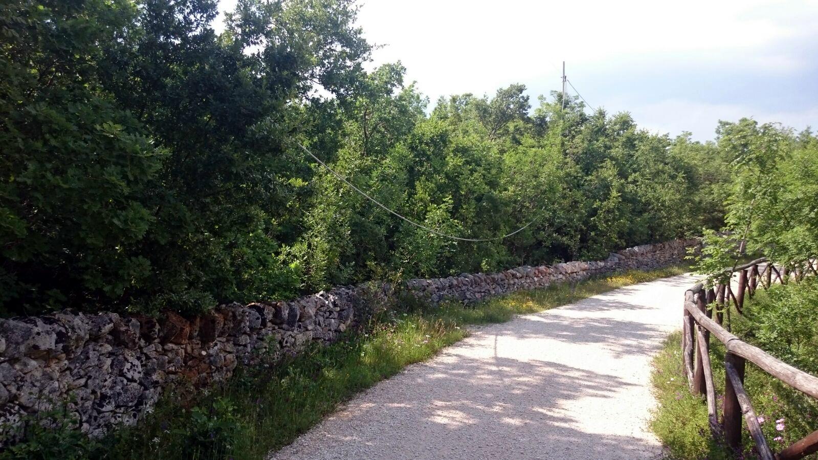 percorso acquedotto cavo elettrico