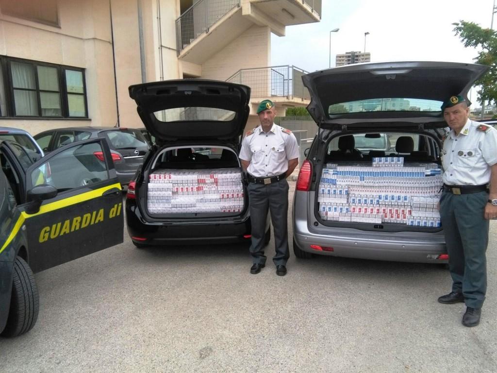 10651 23.06.2016 Sequestro sigarette di contrabbando