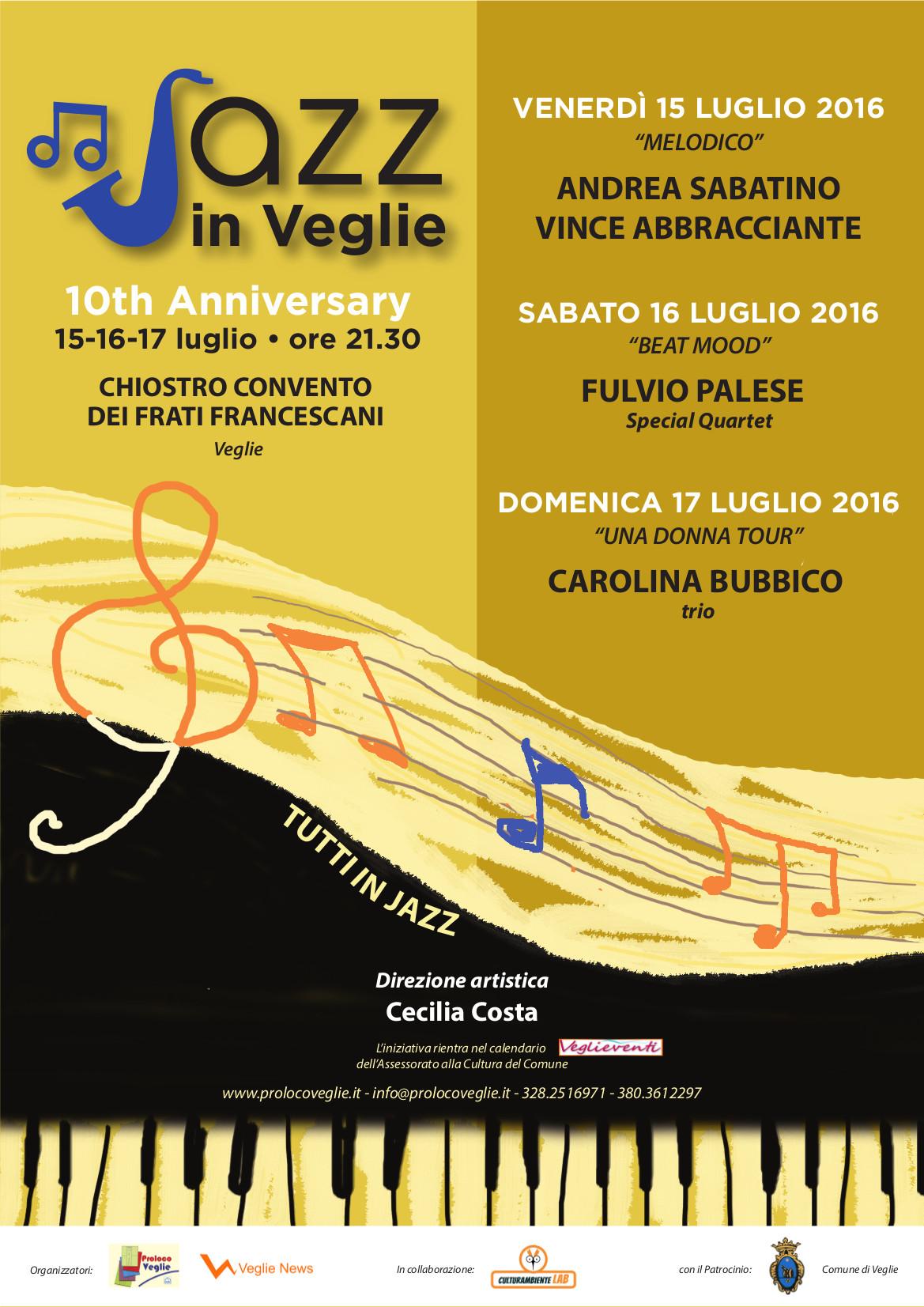 locandina Jazz in Veglie