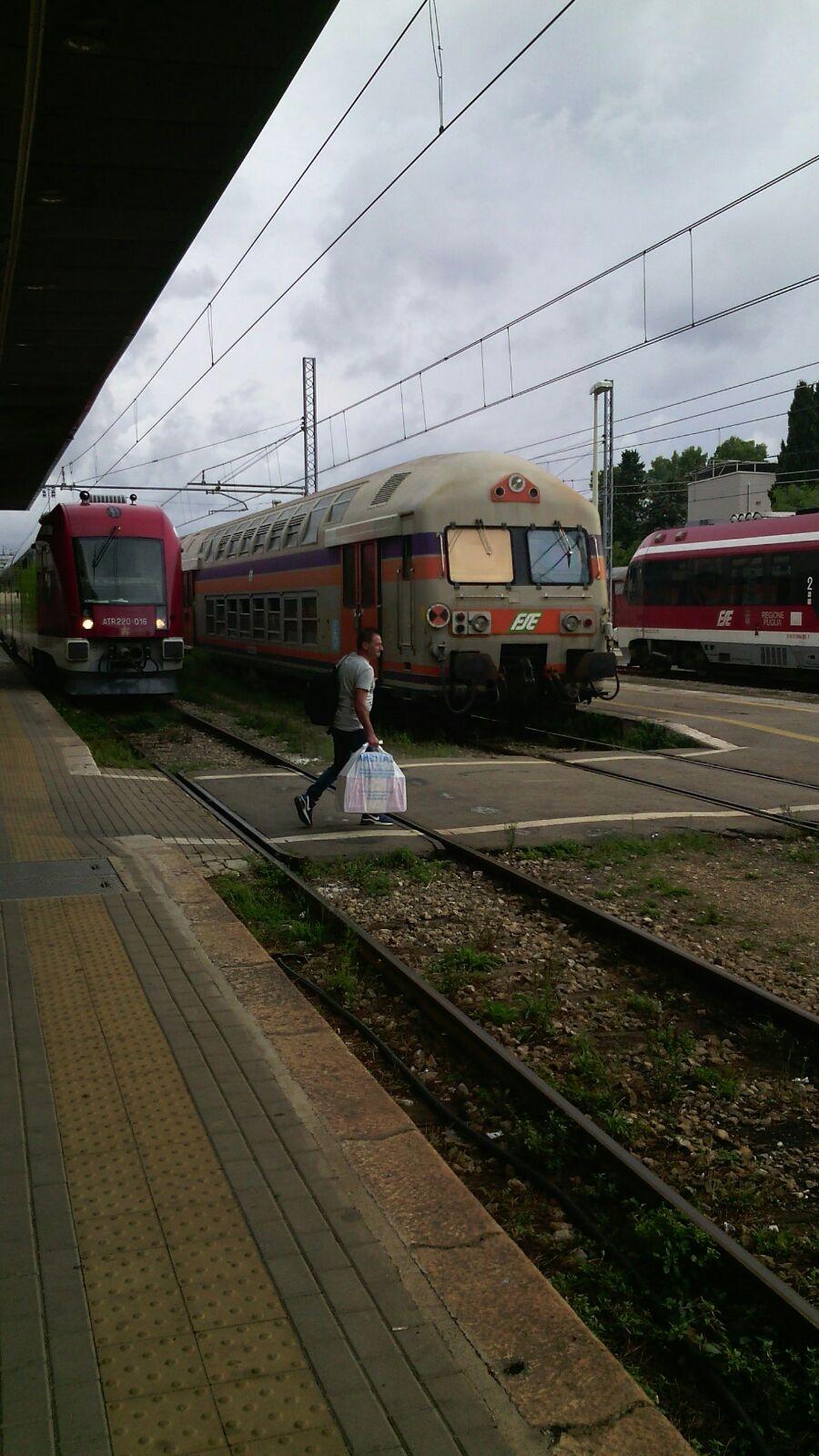 treno martina verso riparazione