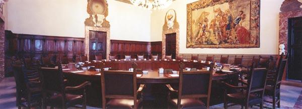 palazzo chisi sala consiglio ministri