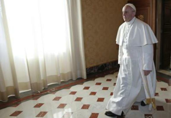 papa francesco corridoio 1