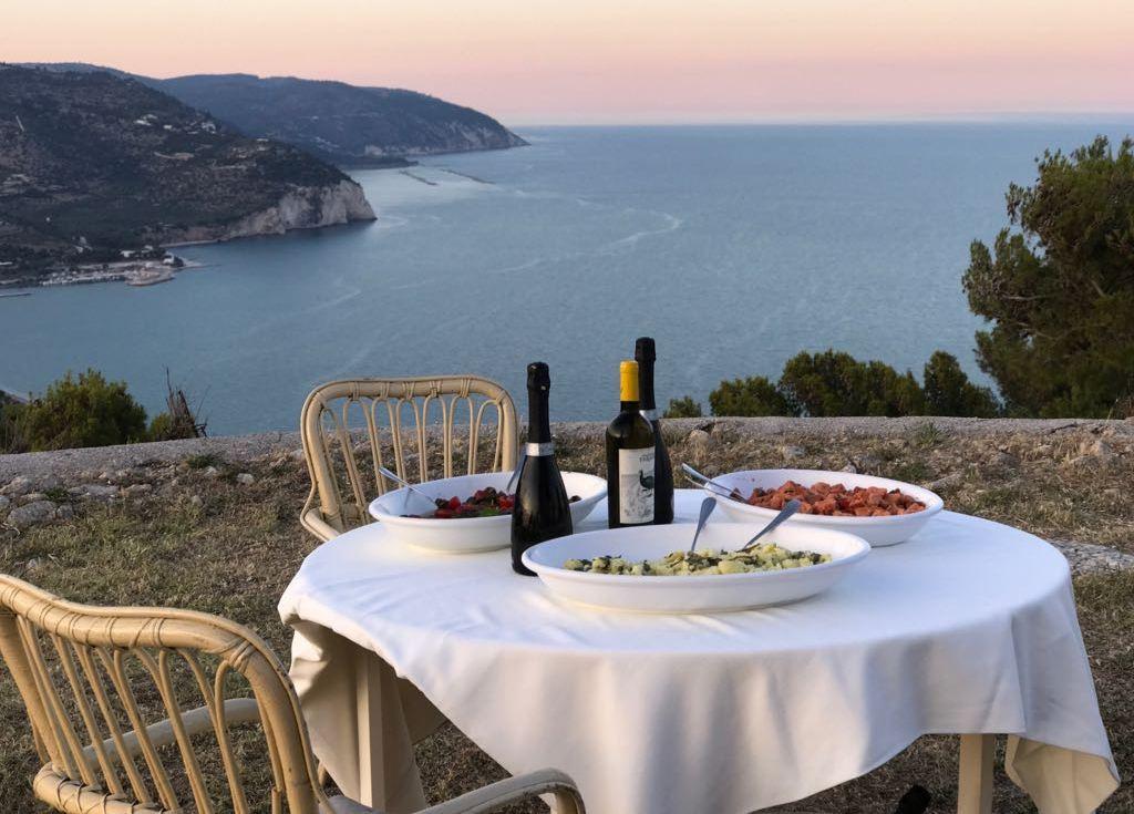 Cena a Monte Sacro