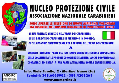 Nucleo protezione civile