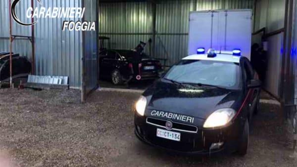 carabinieri furto auto 2