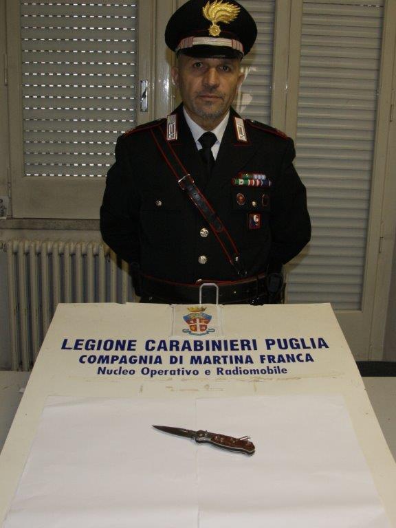coltello Martina Franca