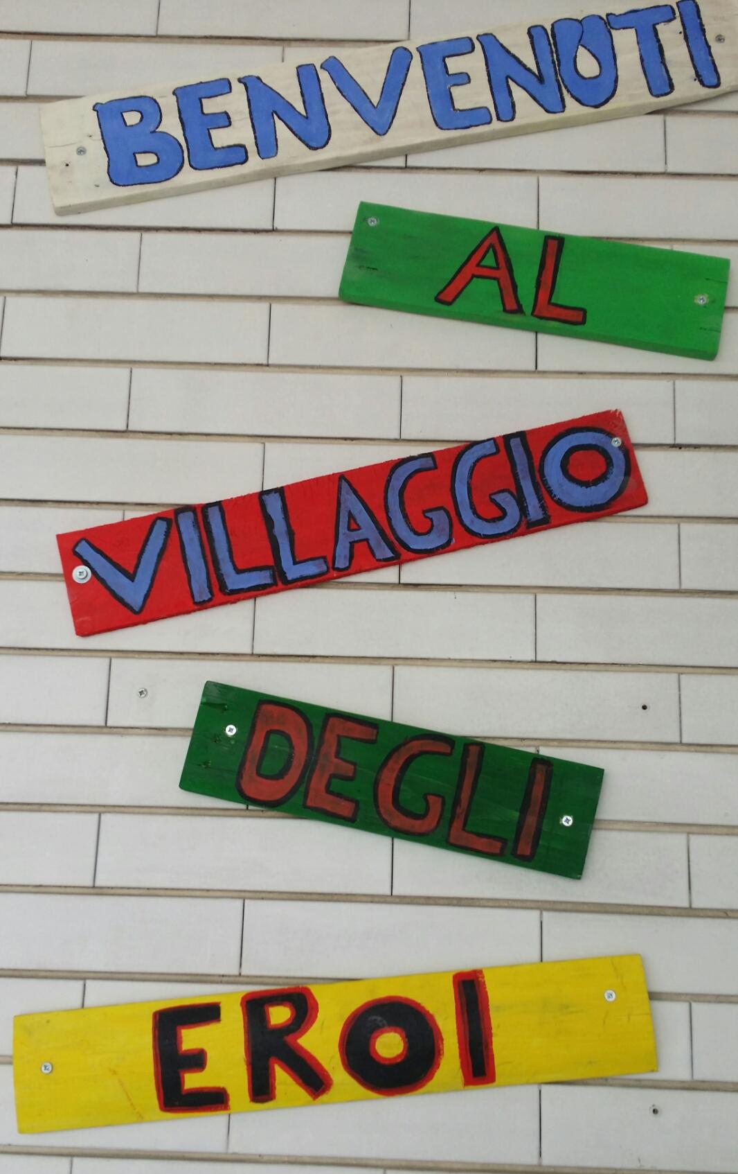 modugno villaggio degli eroi inaugurazione giugno 2018