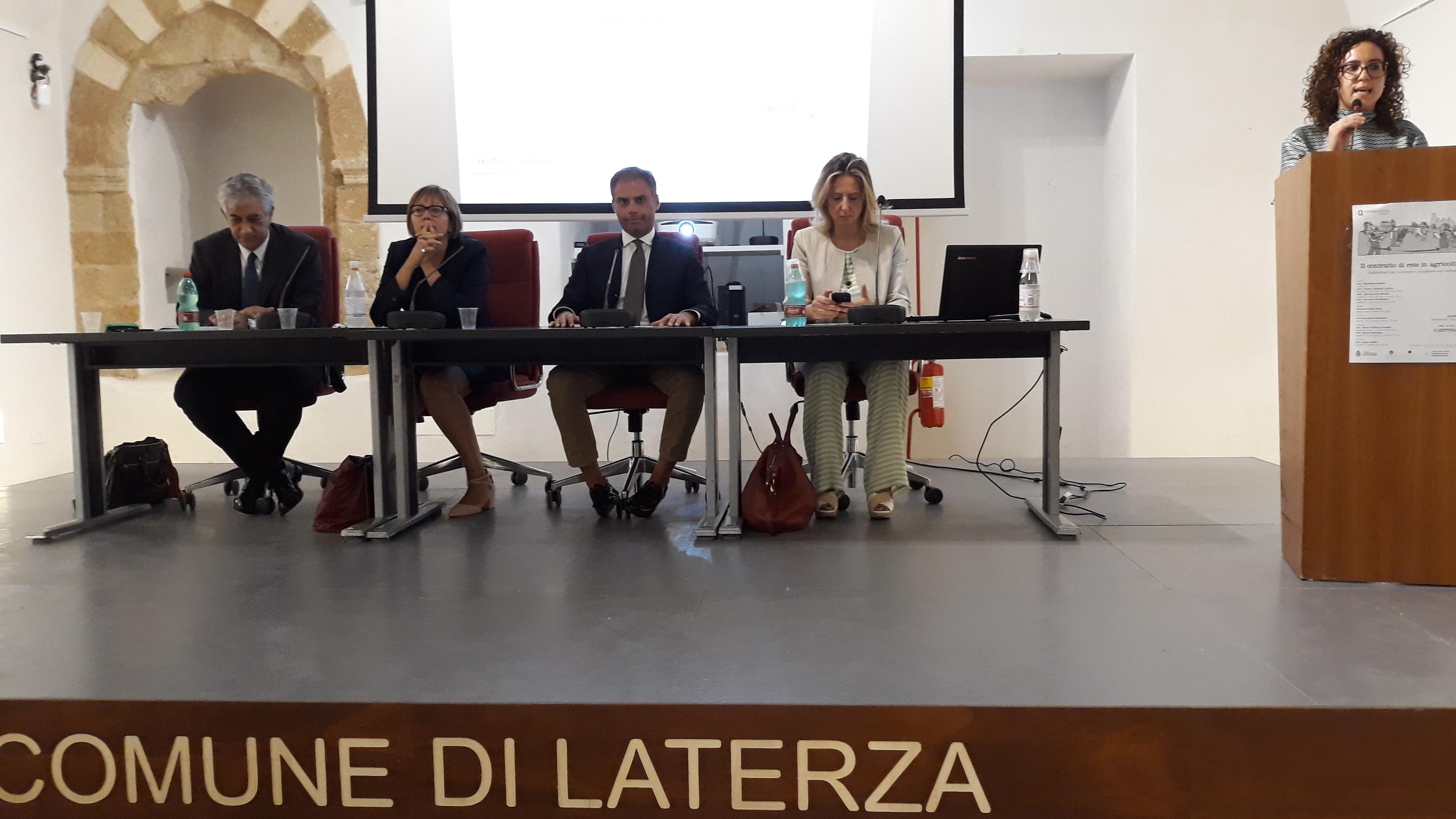 Convegno Laterza tavolo relatori 2
