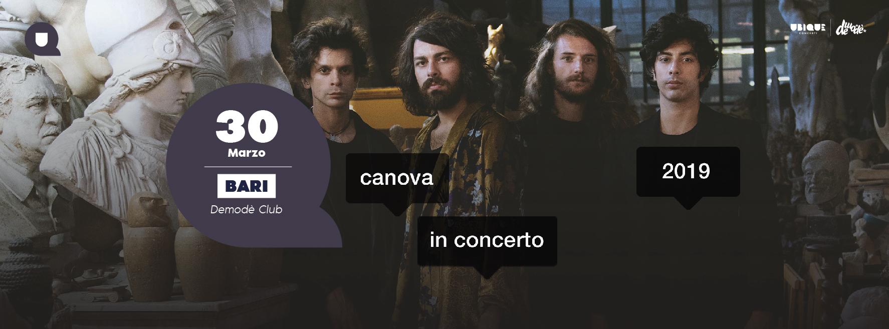Canova online cover