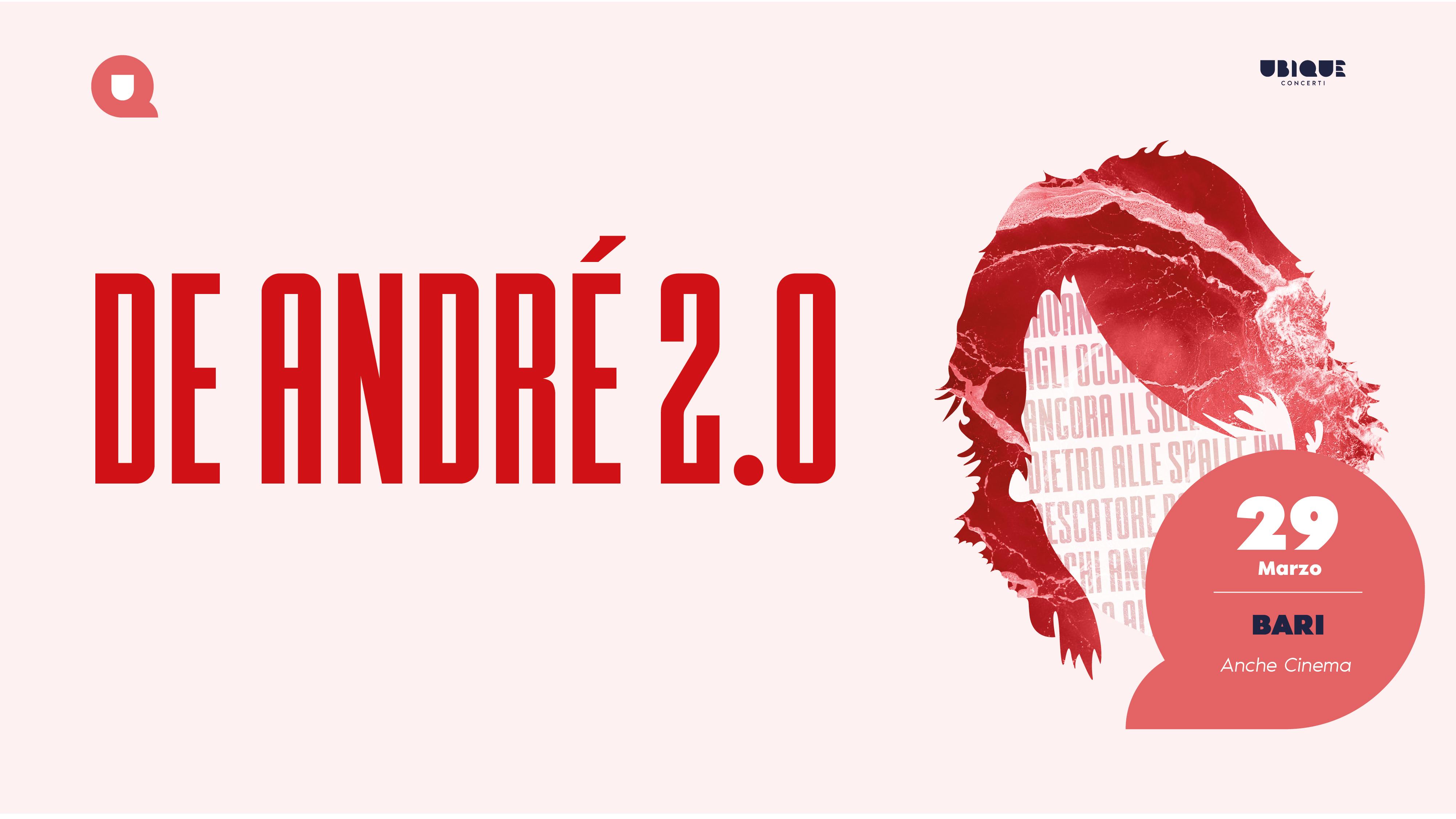 De Andrè2.0 online evento