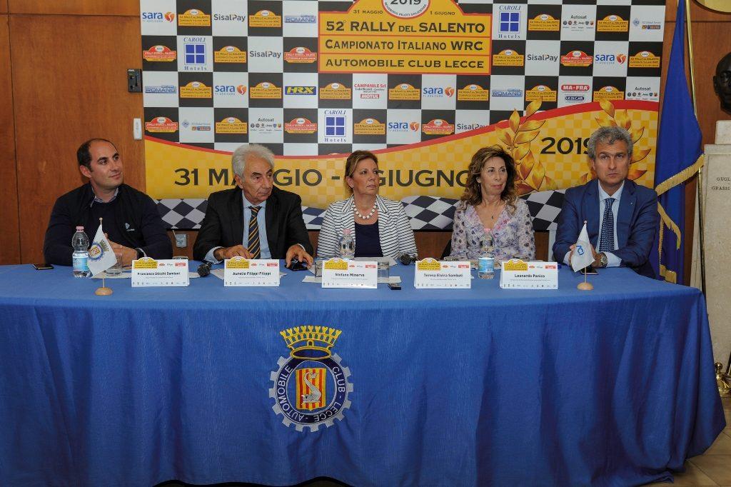 Conferenza Stampa L. De Marianis Salento 19