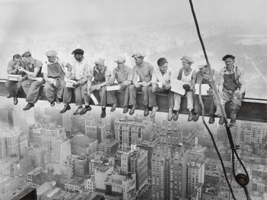 lunch atop a skyscraper c 1932 u l enkmu0