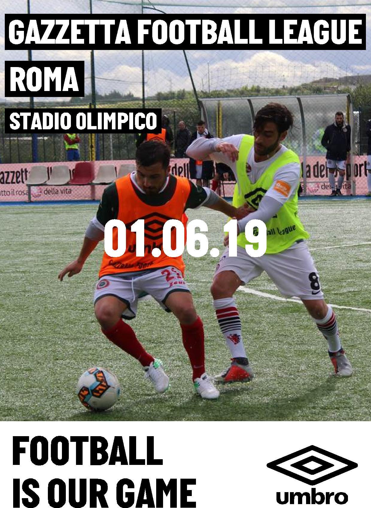 gazzetta football league finale roma 2