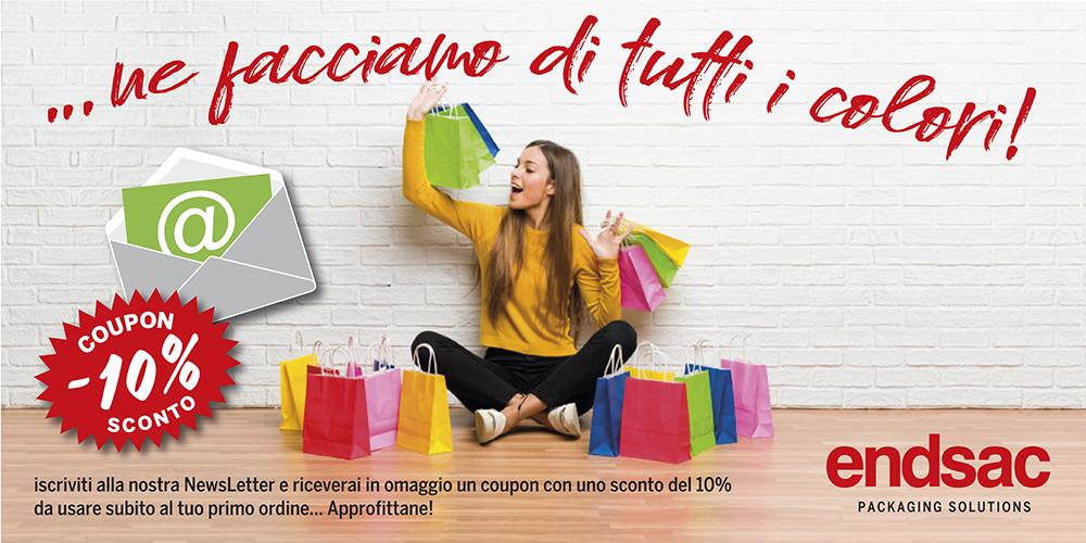 Shopper per i negozi di abbigliamento - Endsac