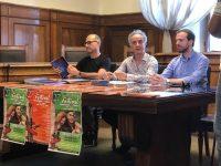 conferenza stampa da sinistra verso destra Bruno Libraro Barulli