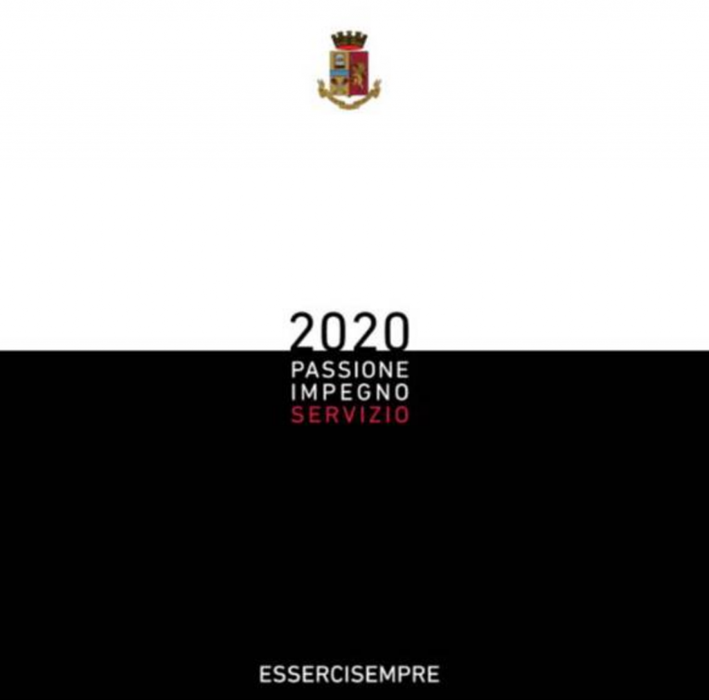 Anno Calendario 2020.La Polizia Si Porta Avanti Con Il Lavoro Calendario 2020