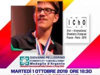 368 LAmministrazione Comunale premia Giovanni Pellegrino argento olimpiadi internazionali chimica.JPG