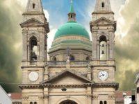 La Basilica nella ricostuzione del poliba con la cupola